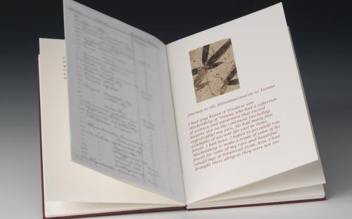 Claire Owen :: Cabinet of Curiosa, diary page of Charles Blackmire
