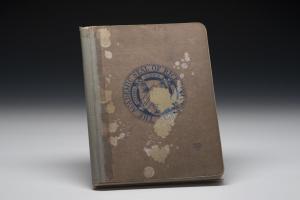 APZ: notebook facsimile by Elena Bouvier