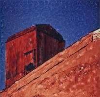 Red Roof by Elena Bouvier